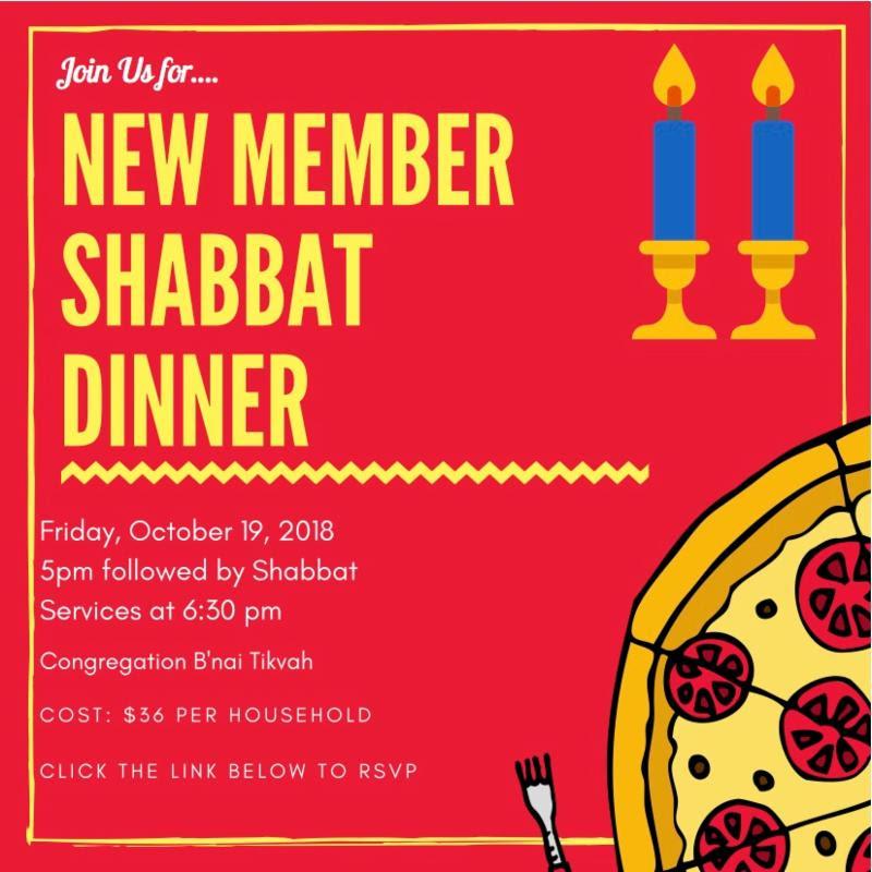New Member Shabbat Dinner