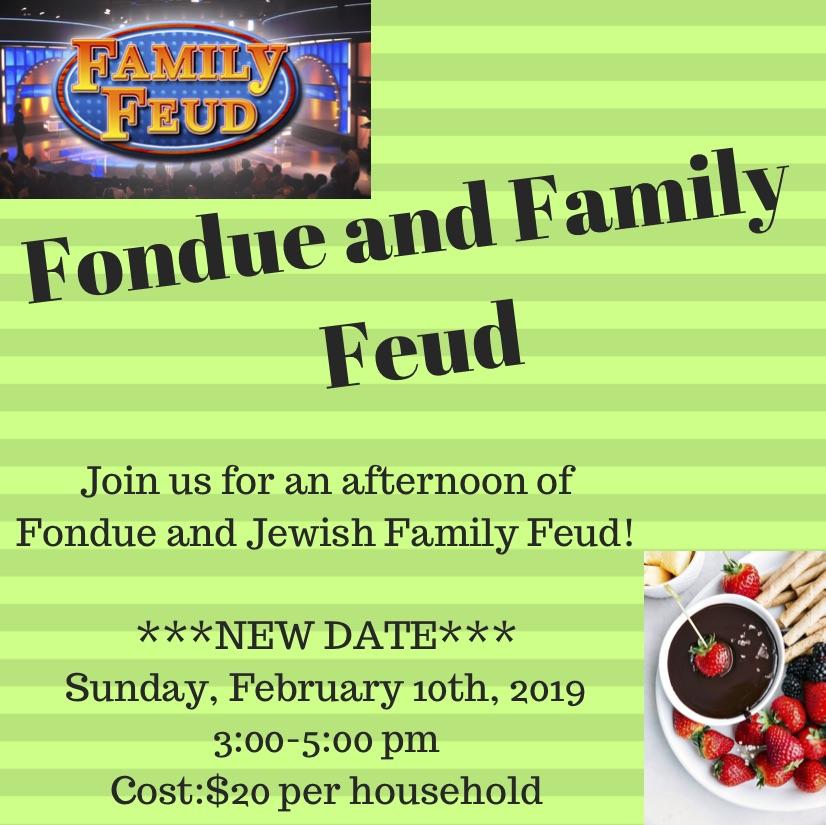 Fondue & Family Feud