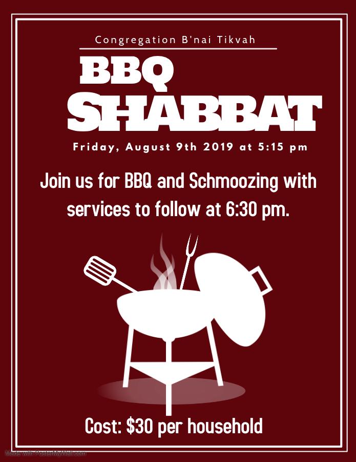 BBQ Shabbat