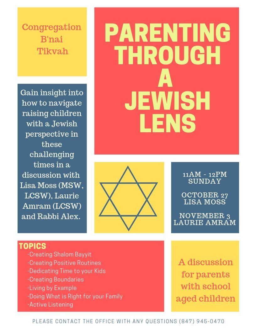Parenting through a Jewish Lens