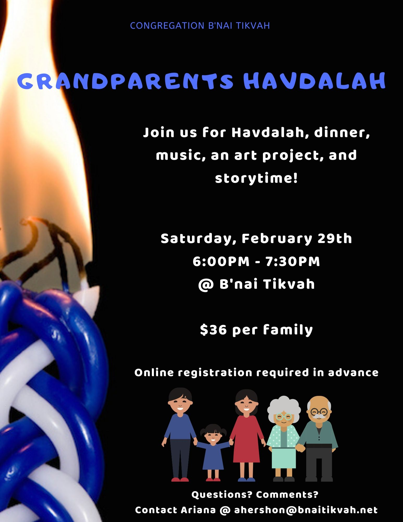 Grandparents Havdalah