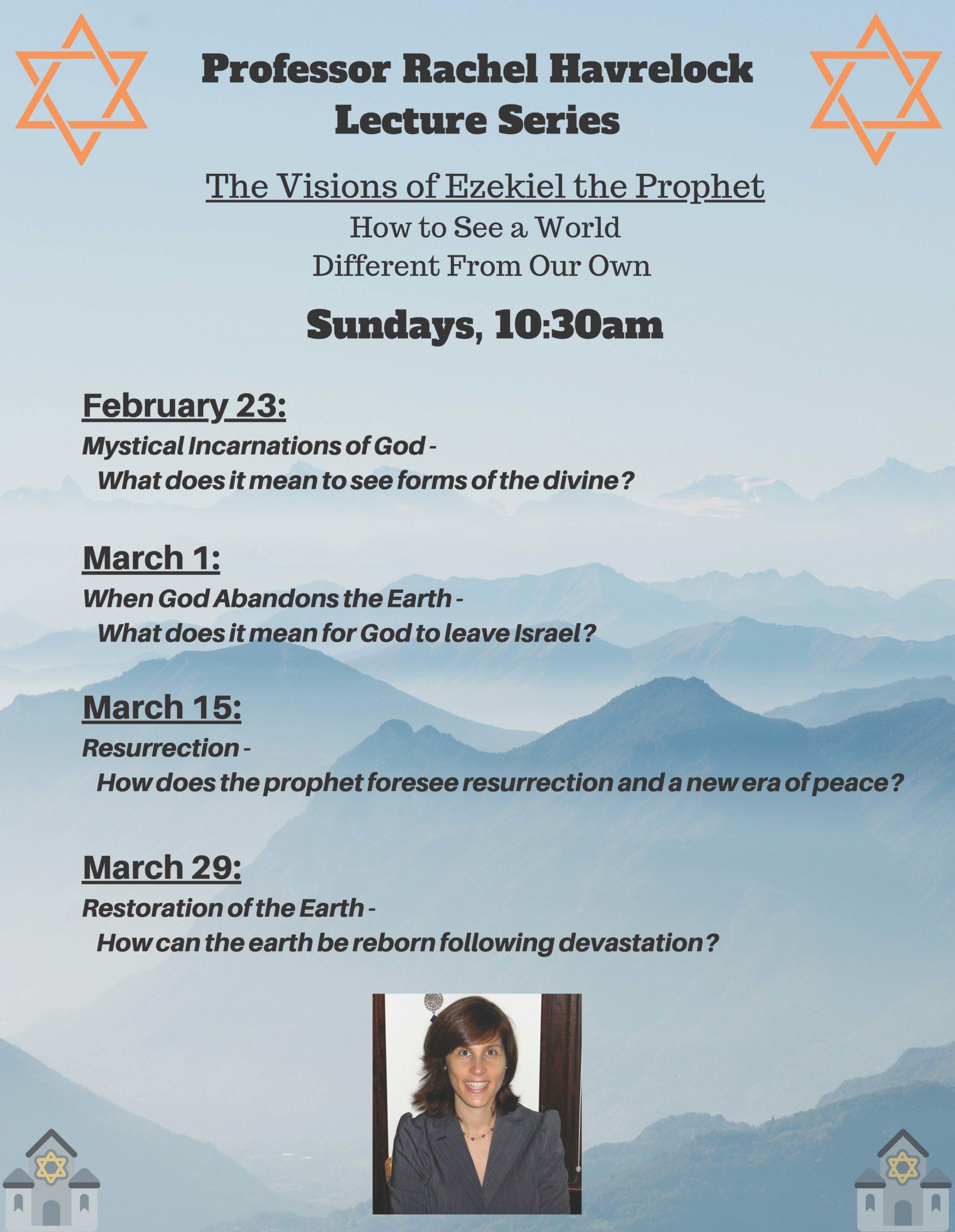Professor Rachel Havrelock Lecture Series